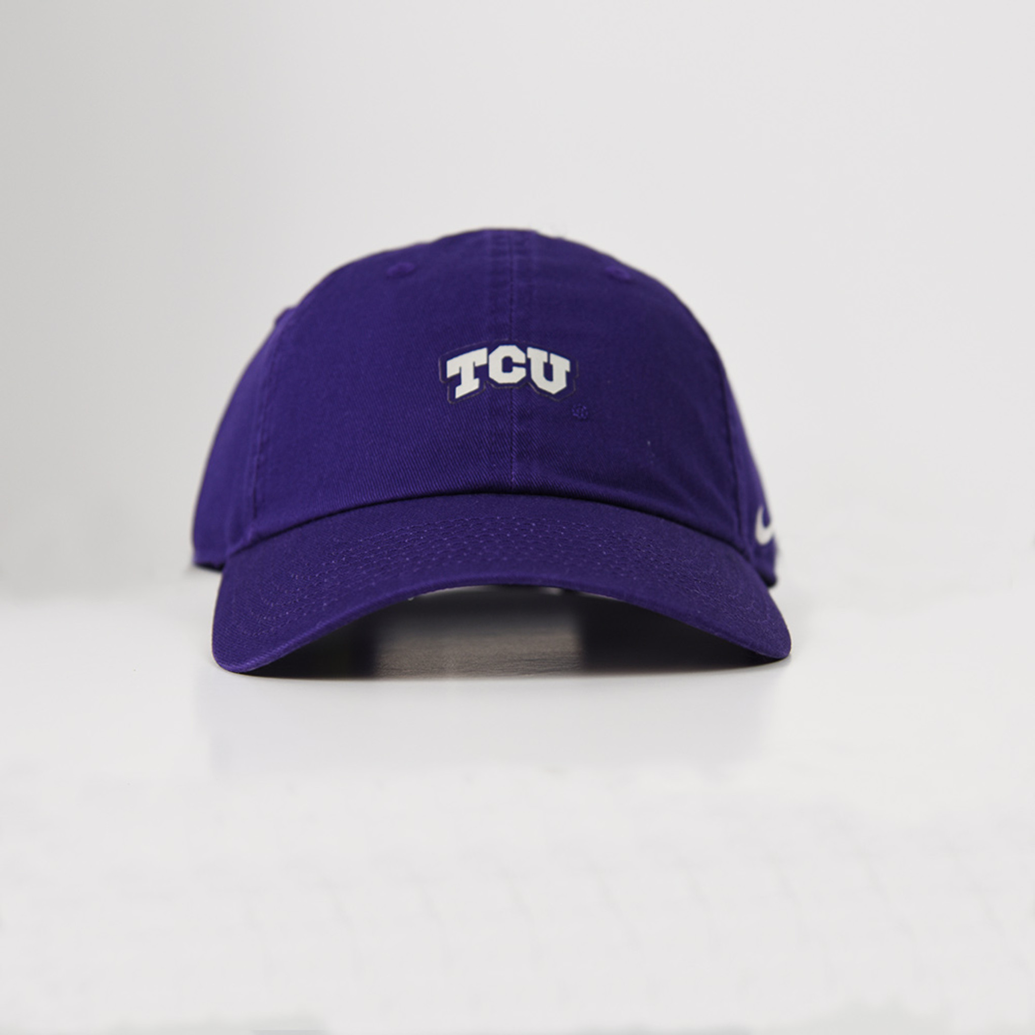 Men s TCU Nike Small Logo 6 Panel Hat - TYLER S 23869c4559d