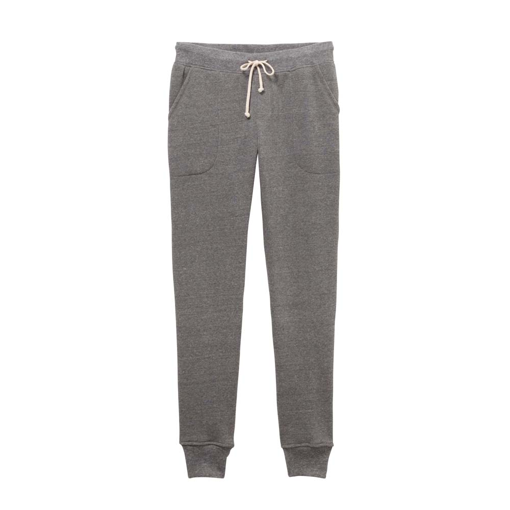 Women's Grey Eco-Fleece Jogger Pants