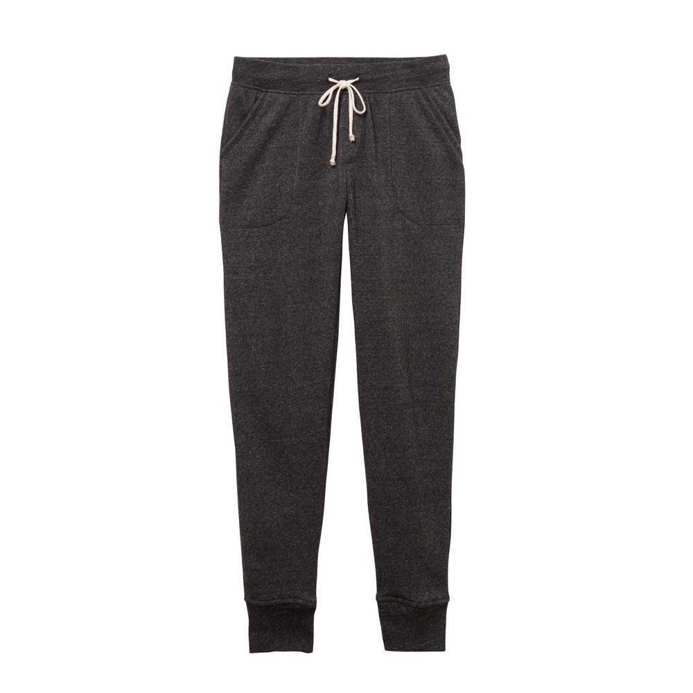 Women's Black Eco-Fleece Jogger Pants