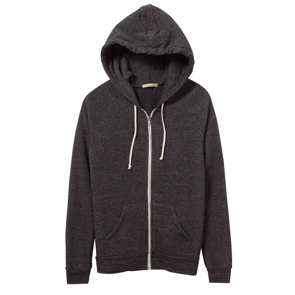 Women's Black Adrian Eco-Fleece Zip Hoodie