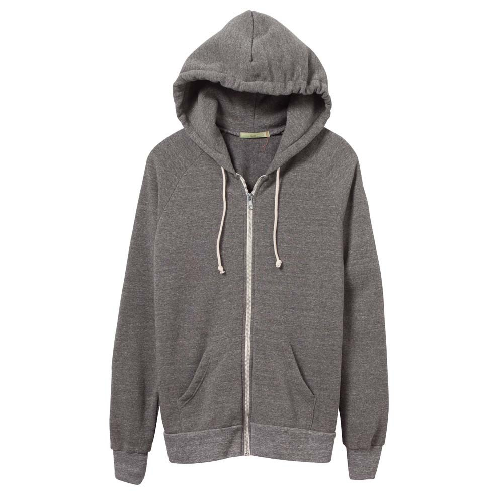 Women's Grey Adrian Eco-Fleece Zip Hoodie