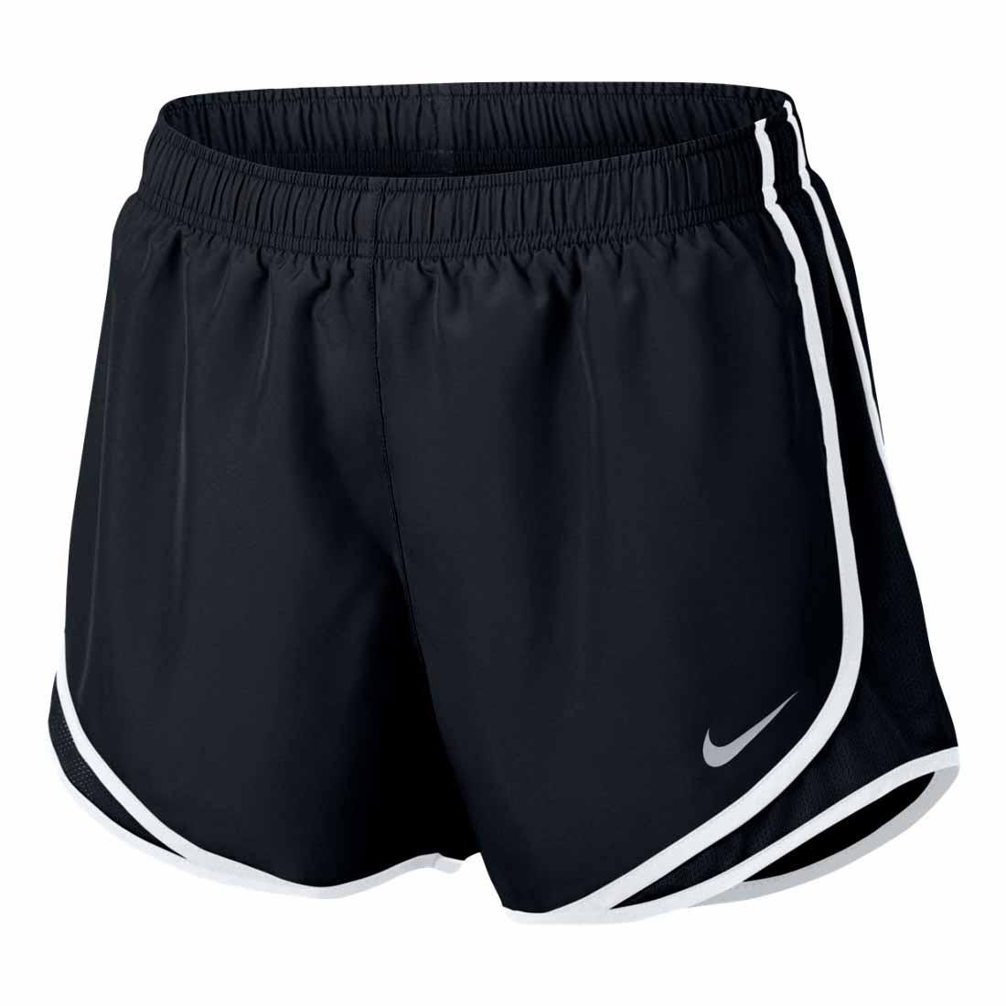 Women's Black/White Nike Tempo Running Shorts