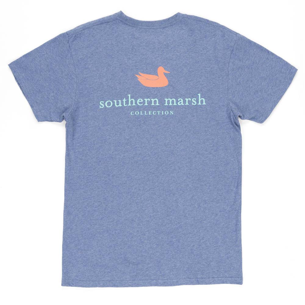 Southern Marsh Washed Slate Authentic Tee