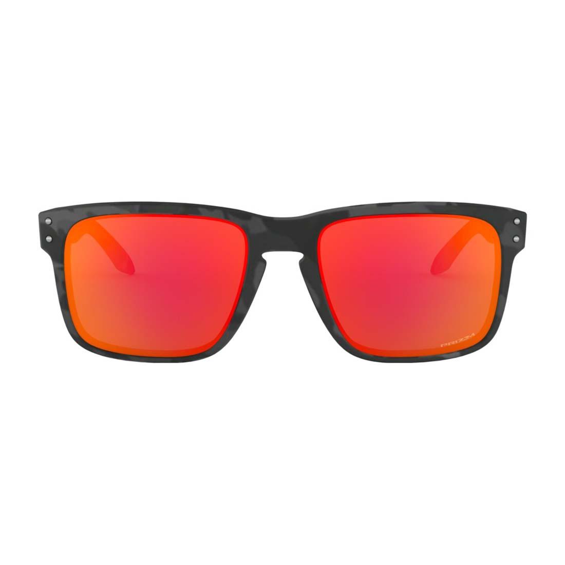 Men's Black Camo/ Prizm Ruby Holbrook Glasses