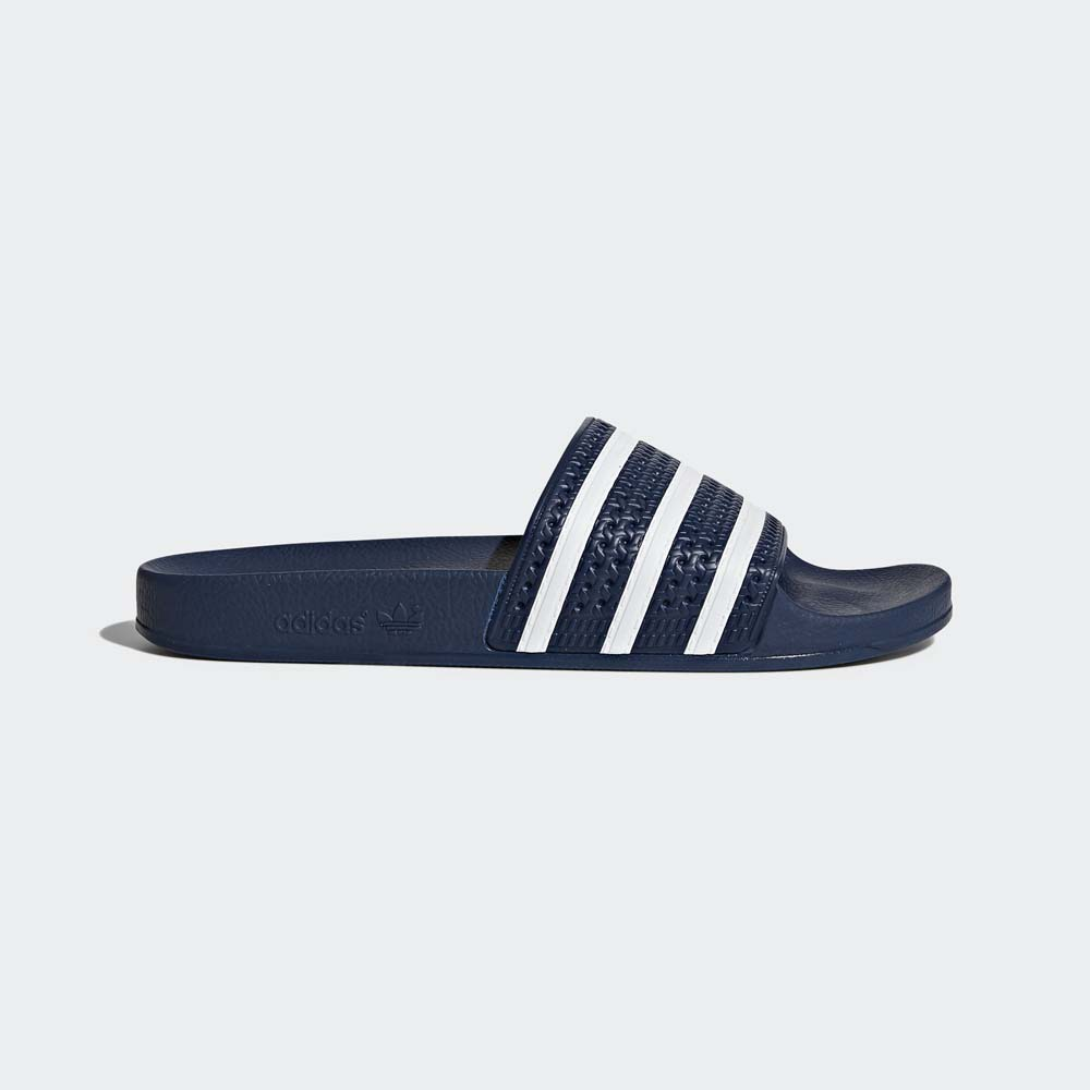 Men's Blue adidas Adilette Slides