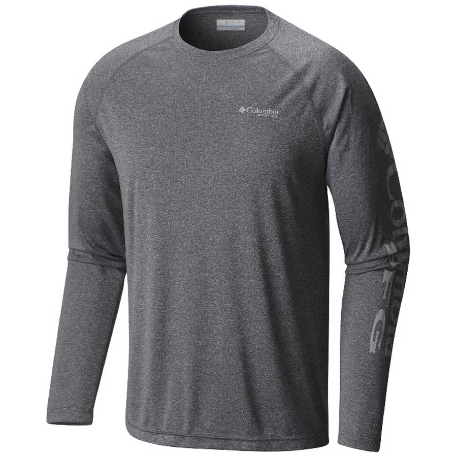 Men's Charcoal Terminal Tackle Heather Shirt