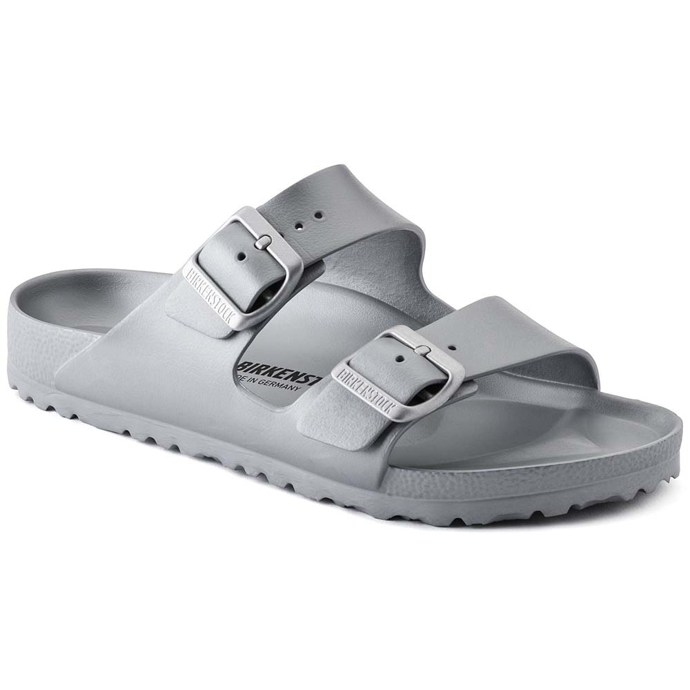 Women's Arizona Essentials Metallic Silver EVA Sandals