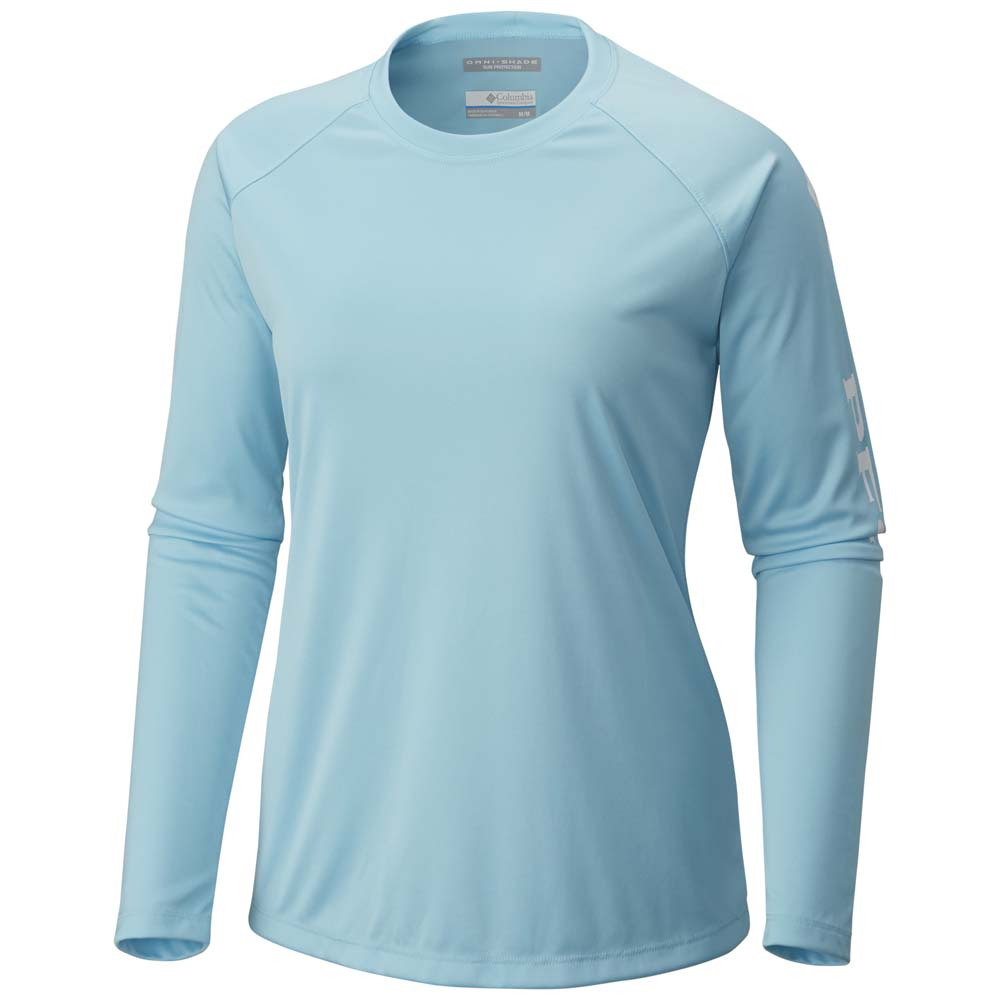 Women's Clear Blue Tidal Tee II Long Sleeve Shirt