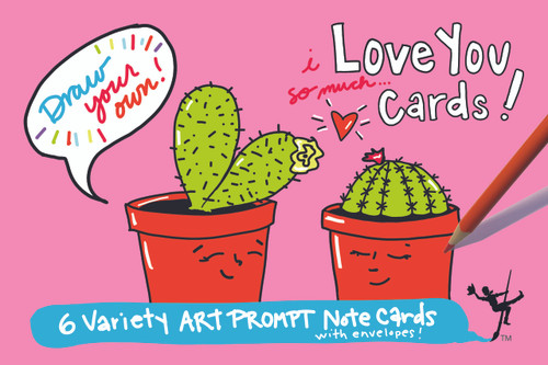 Love You Cards | Draw Your Own (6-Variety)