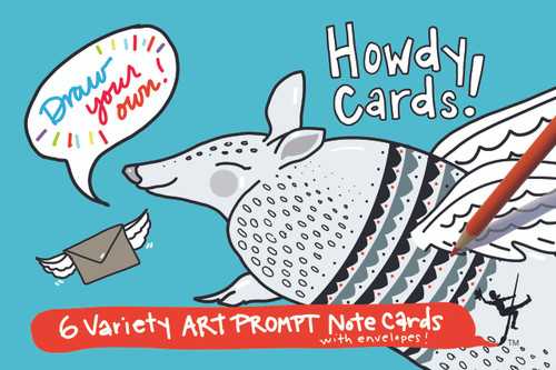 Howdy (Greeting) Cards | Draw Your Own (6-Variety)