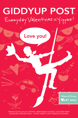 Love you! (12-Variety Everyday Valentines!):  Everyday Valentines= Yippee!