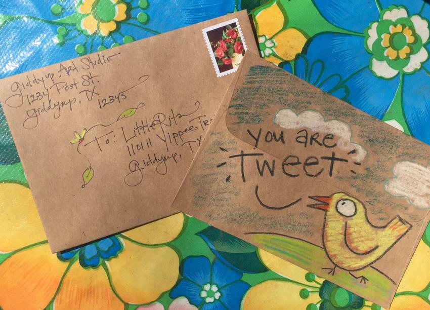 VIDEO HOW TO: Address + Dress an Envelope! (1:55 min)