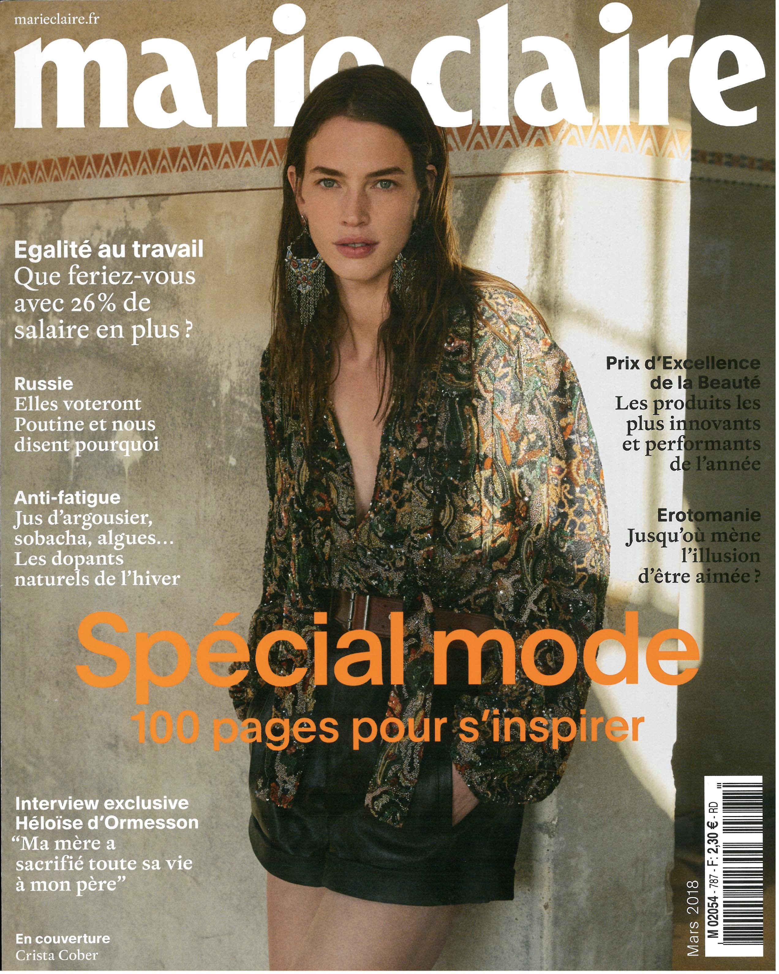 0db2dcc453 MARIE CLAIRE - MARCH 2018