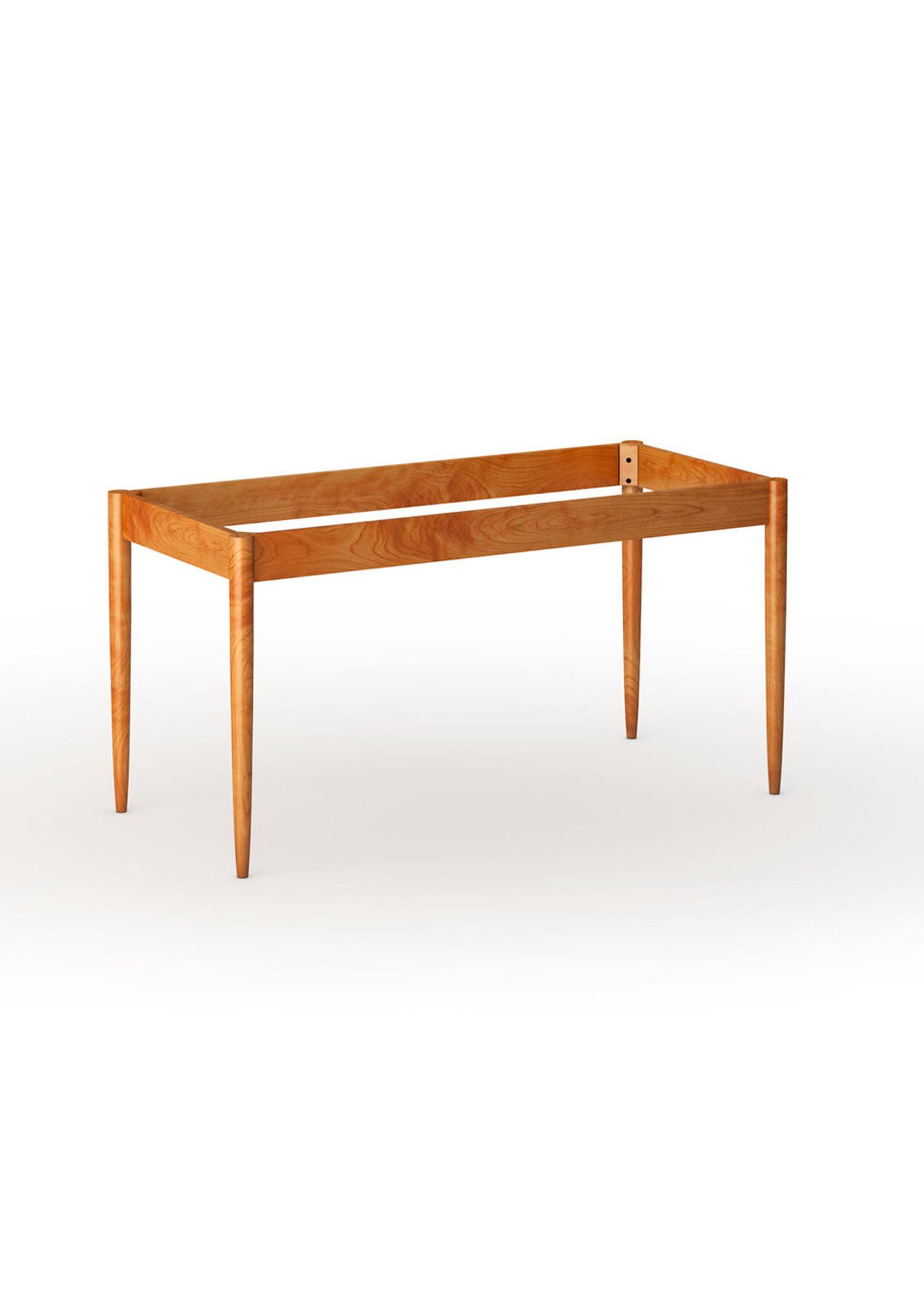 Wegner danish modern dining table base with aprons 29 leg