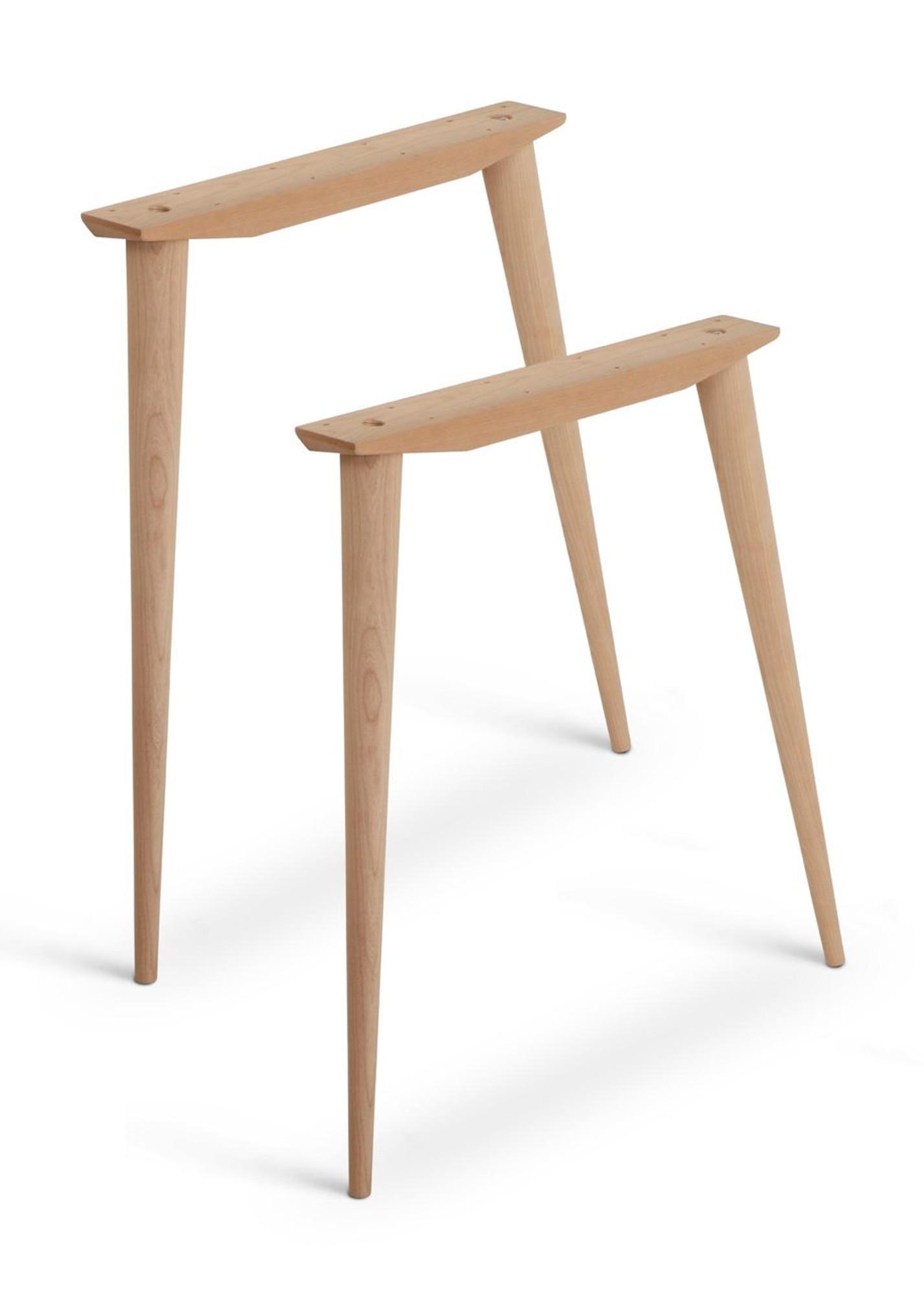 Mccobb Mid Century Modern Table Base Set 4 Legs Amp 2