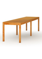 Parsons 6 Legged Dining Table, Thin Leg