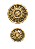 Cast Brass Cabinet Knobs