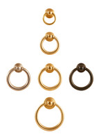 Brass Drawer Ring Pulls