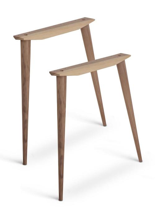 McCobb MidCentury Modern Table Base Set 4 Legs 2 Angled Cleats