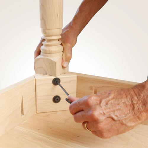 ​How To Attach Table Legs