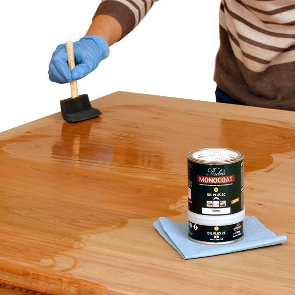 How to Apply Monocoat Finish