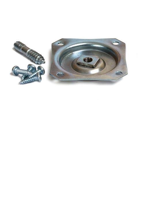 Straight Metal Attachment Plate For Furniture Feet Legs