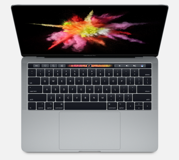 APPLE 13-inch MacBook Pro with Touch Bar 3.1Ghz i5-8GB-512GB - Space Grey (MPXW2X/A)
