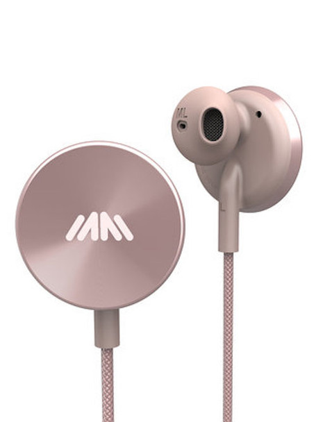 i.am+ Deluxe Wireless In Ear Headphones - Rose Buttons (IAMEP2001RGRG)