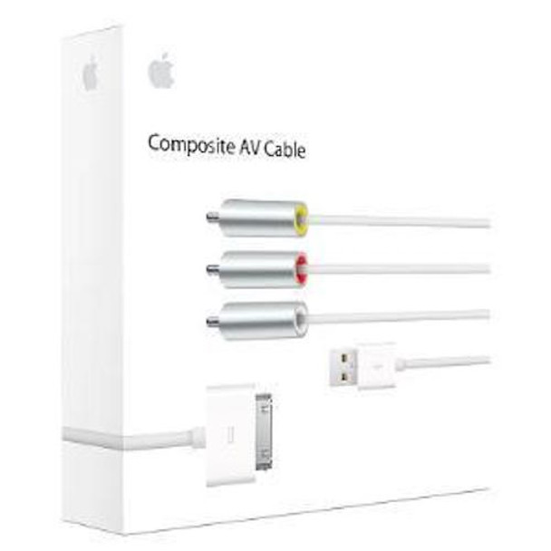 APPLE 30-PIN to Composite AV Cable (MC748AM/A)