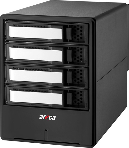 Areca ARC-8050T3-4 Thunderbolt 3.0 Solution with 4 x 6TB Desktop 7200 HDD 3YR (ARC8050T3-4-24VN41)