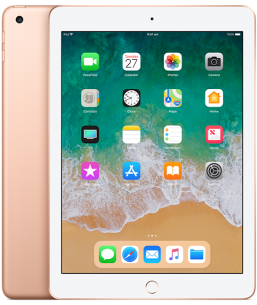 APPLE iPad 9.7INCH WI-FI 32GB (6th GEN) - Gold (MRJN2X/A)