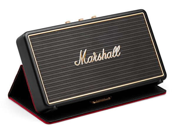 Marshall Stockwell Portable Bluetooth Speaker - Black - (Inc Flipcover)
