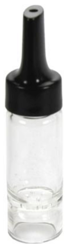 A replacement glass aroma tube with plastic screw-on mouthpiece for the Arizer Air vaporizer. Also compatible with the Solo vaporizer.