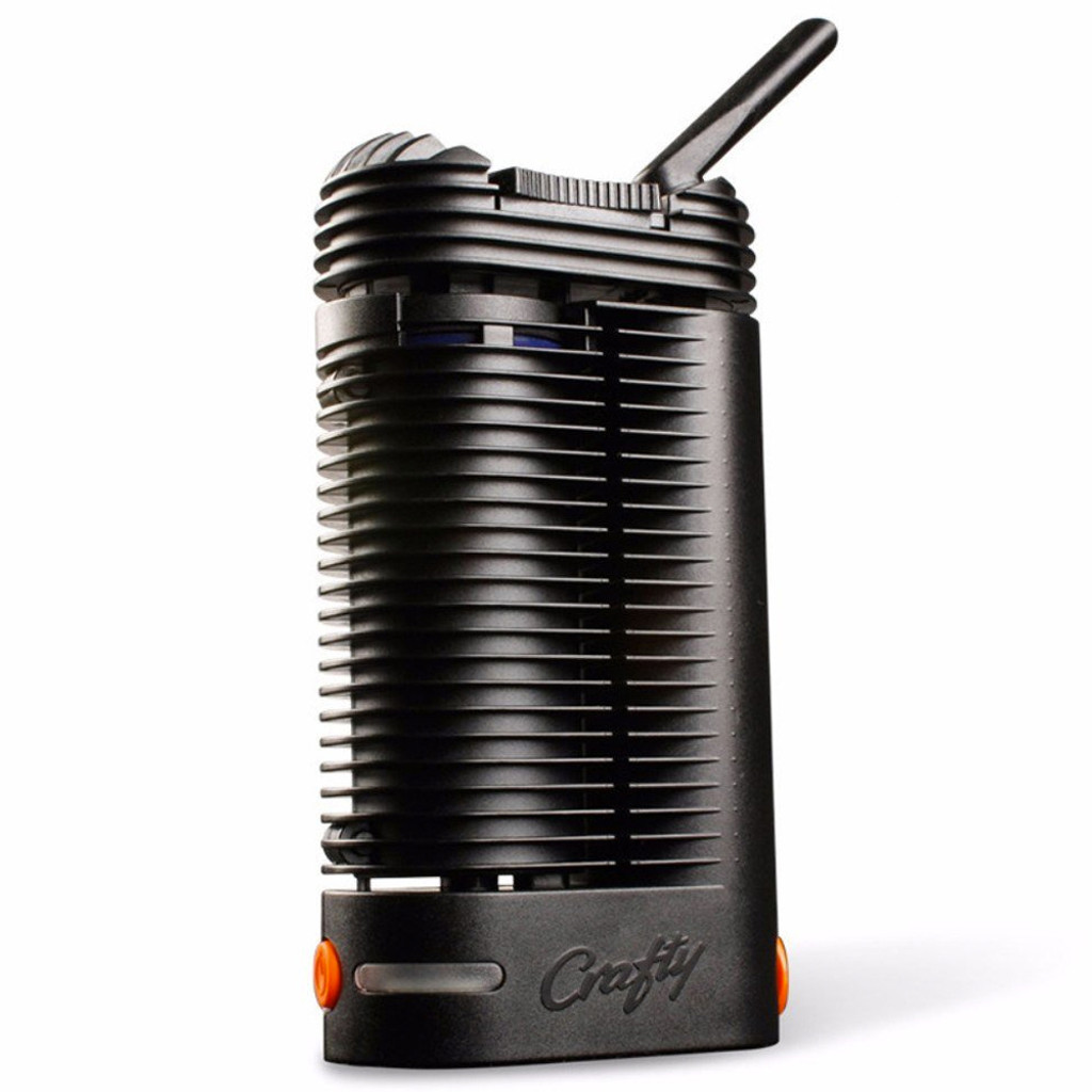 Storz & Bickel CRAFTY portable dry herb vaporizer.