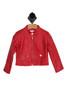 Read Faux Leather Jacket (Little Kid)
