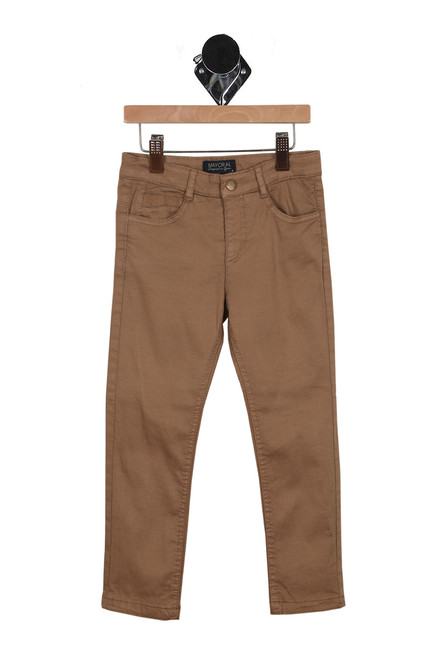 Lined Slim Fit Trousers (Little Kid)
