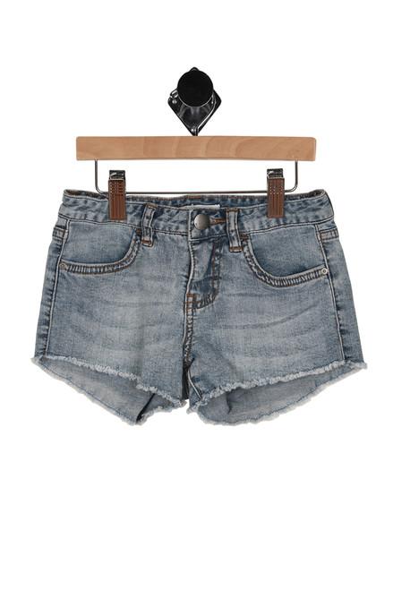 Cut Off Denim Shorts (Little/Big Kid)