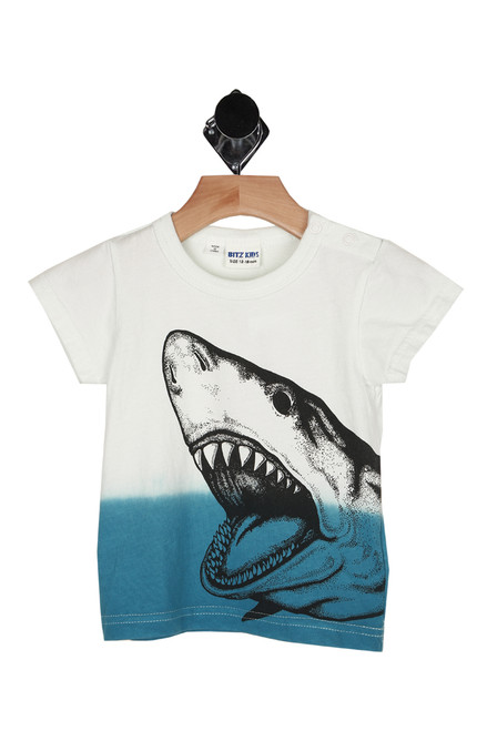 Ombre Jaws Tee (Infant/Toddler/Little Kid)