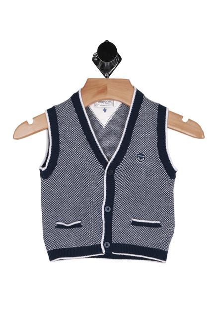 3-Button Knit Vest (Infant)