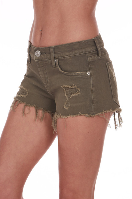 Kenzie Distressed Cut Off Shorts