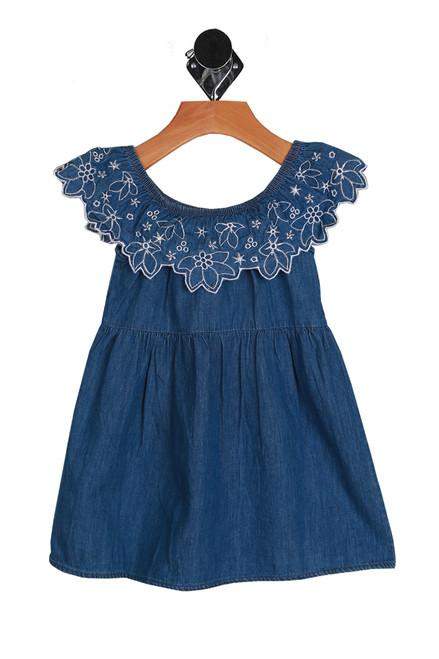 Embroidered Denim Dress (Toddler/Little Kid)