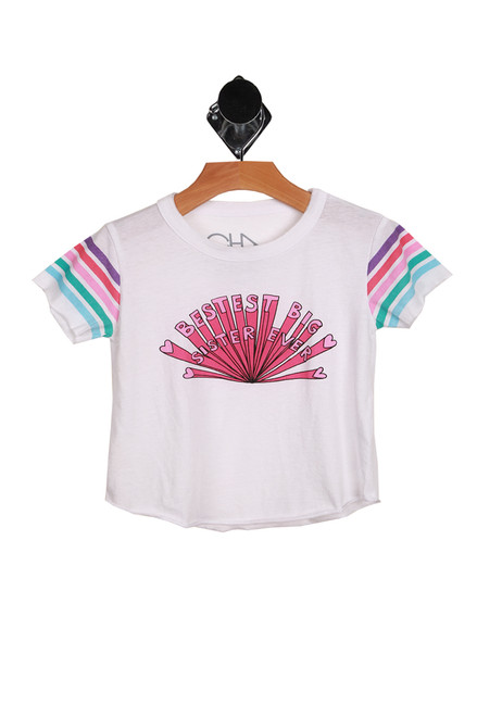 Big Sister Crew Neck Tee (Little/Big Kid)