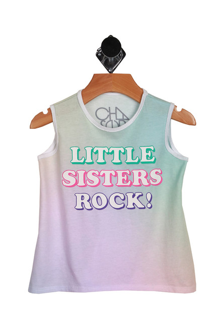 Little Sisters Rock Tank (Toddler)