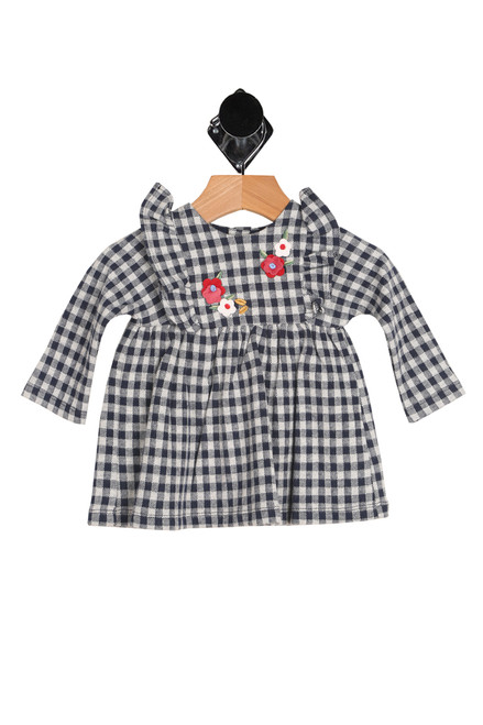 Plaid L/S Dress (infant)