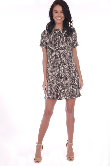 Desert Python Mini Dress