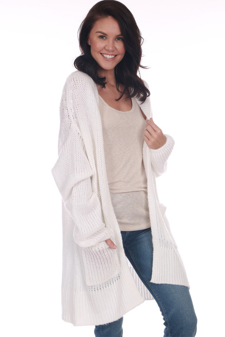 Knitted Oversized L/S Cardigan
