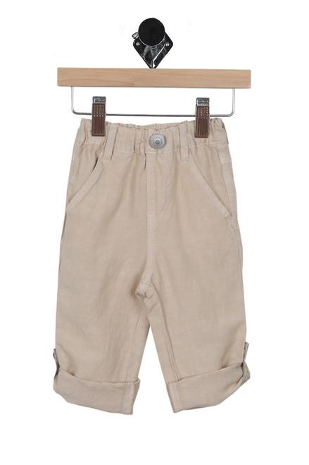 Linen Roll Up Pants (Infant/Toddler/Little Kid)