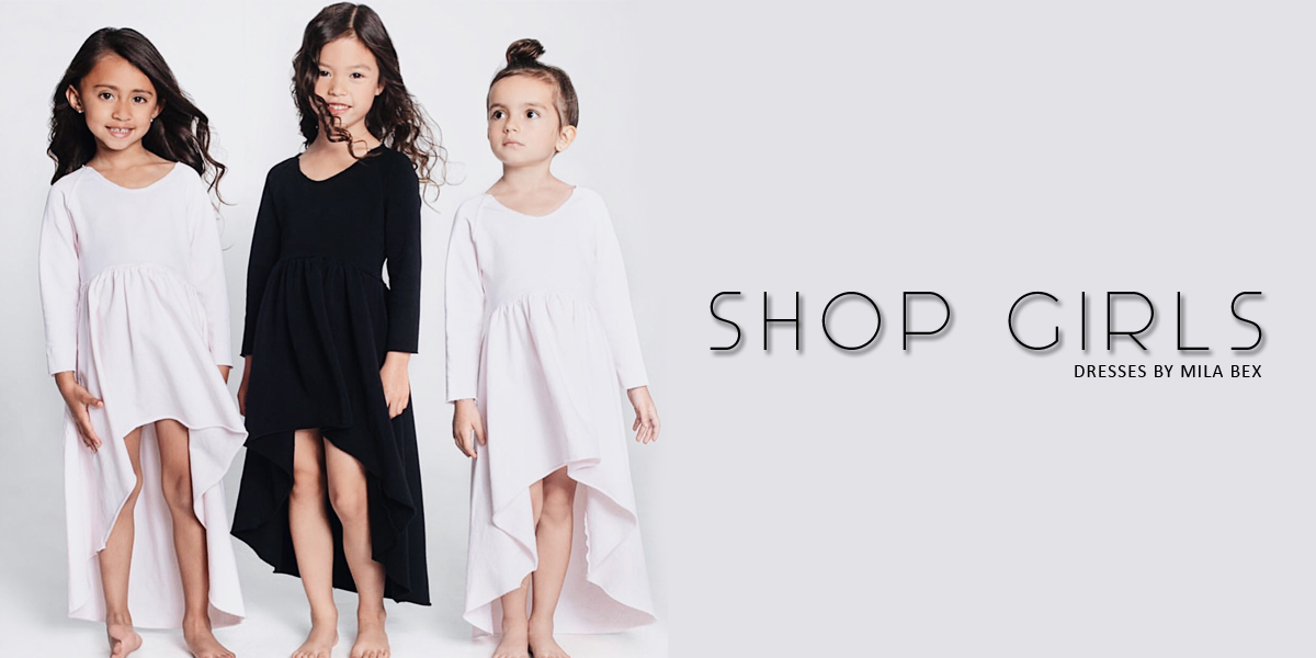 shop girls dresses by mila bex