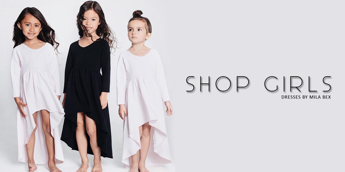 shop girls dresses by mila bex