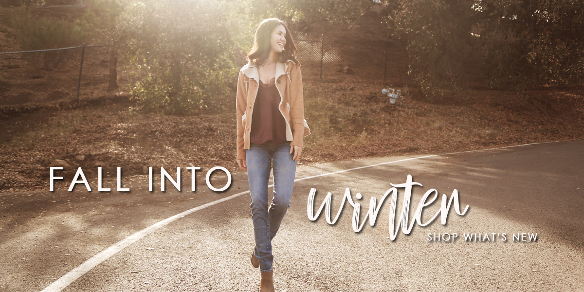 fall into winter shop what's new